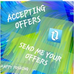 DONT BE SHY😊SEND ME YOUR OFFERS,😊😊😊